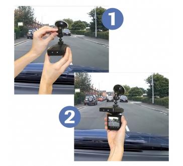 """Przenośna kamera do auta z 2,5"""" displejom"""