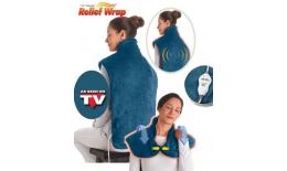 Podgrzewany koc elektryczny na szyję, ramiona i plecy