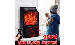Elektryczny mini termowentylator, ceramiczny Flame Heater