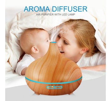 Nawilżacz Powietrza Dyfuzor Zapachowy Aromaterapii Jonizator