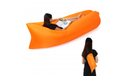 Samopompujący materac Lazy Bag